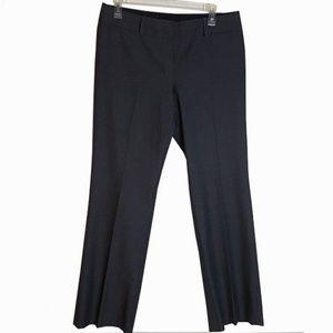 Ann Taylor Loft  Grey Julie trouser  pleated